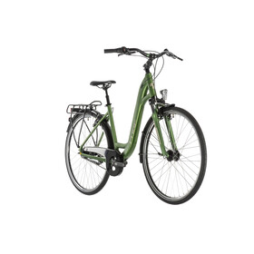 Cube Town Pro City Bike Easy Entry green
